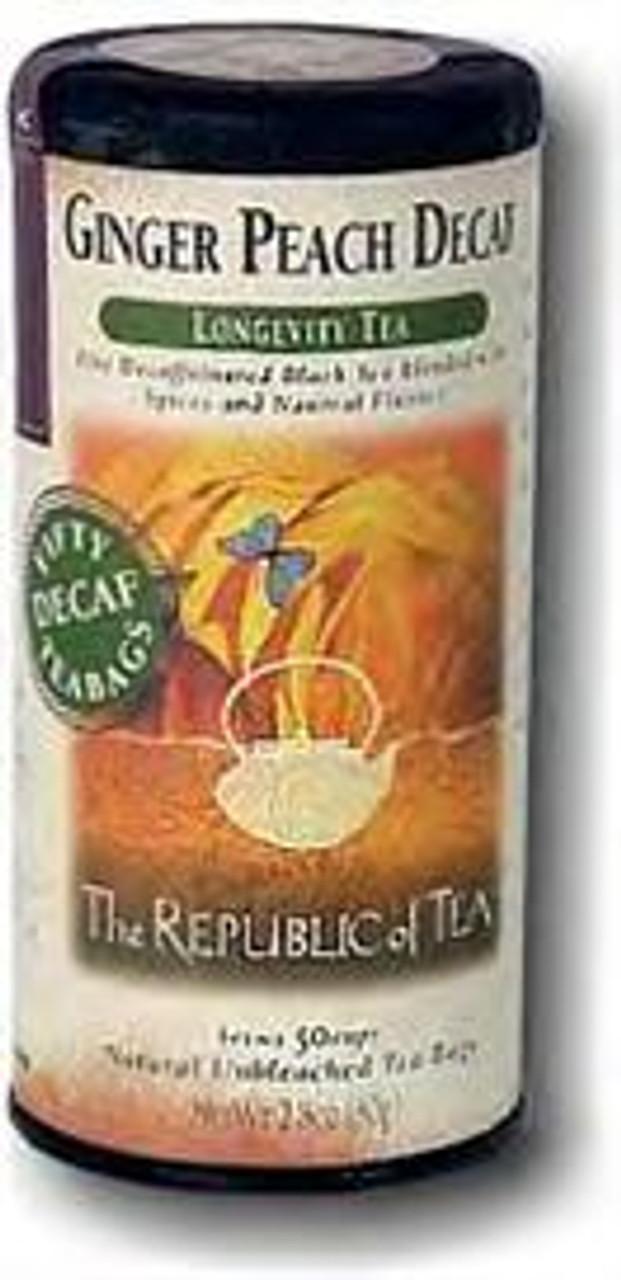 Ginger Peach Decaf Tea