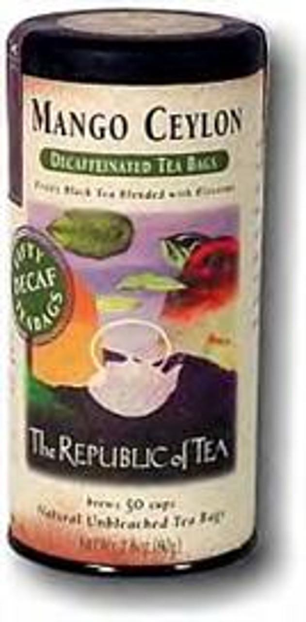 Mango Ceylon Decaf Tea