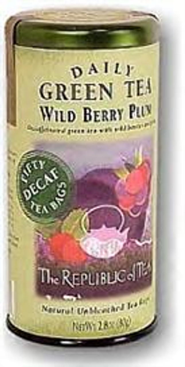 Wild Berry Plum Decaf Green Tea