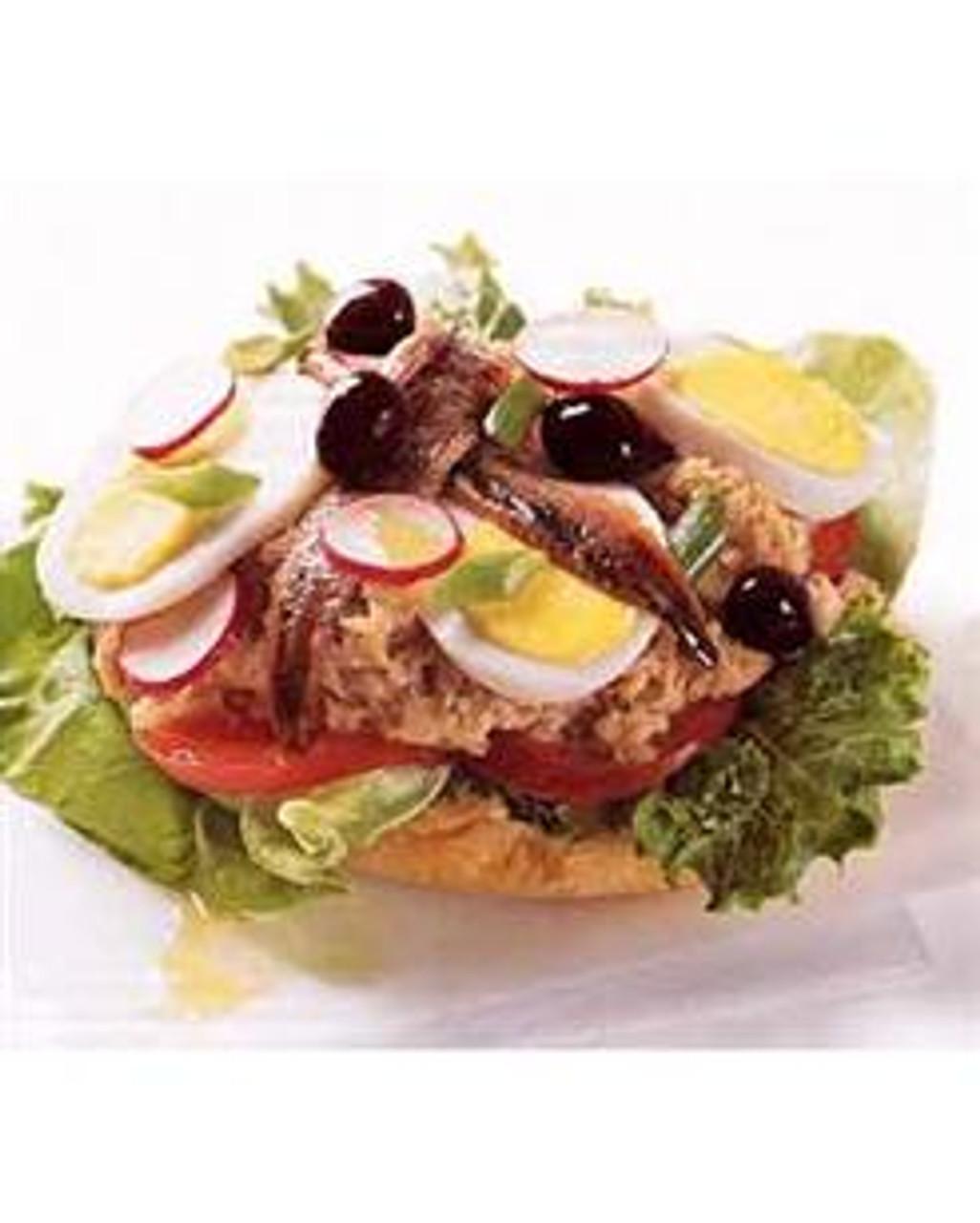 Nicoise Tuna Sandwich