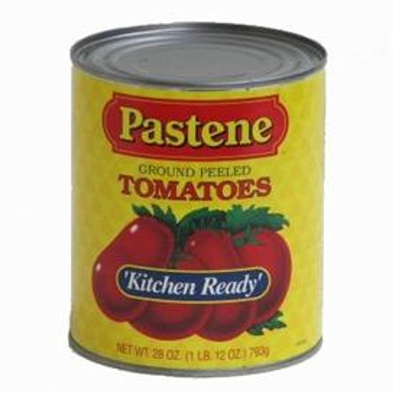 Ground Peeled Tomatoes