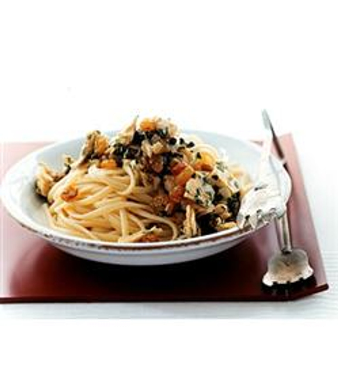 Linguine with Tuna, Capers & Raisins
