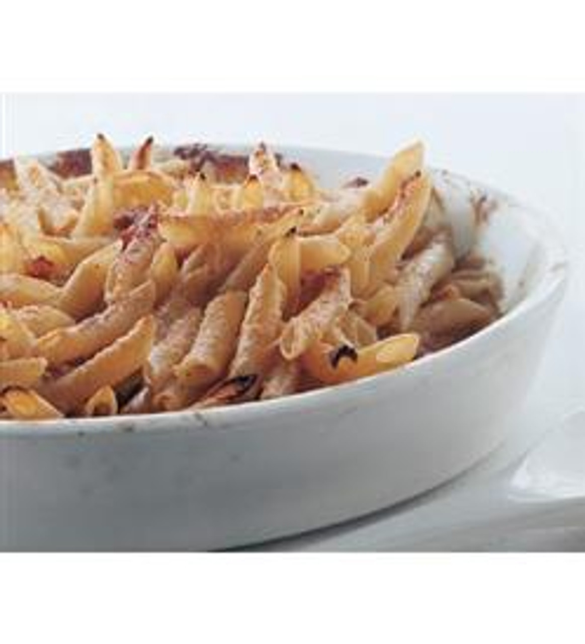 Pasta with Parmigiano Cream & Prosciutto