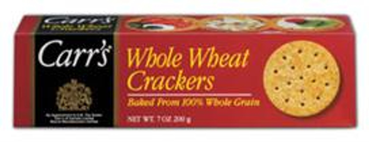 Whole Wheat Crackers- Baked with 100% Whole Grain