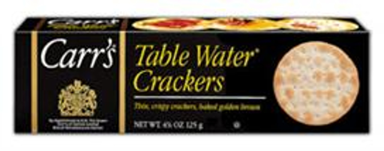 Table Water Crackers