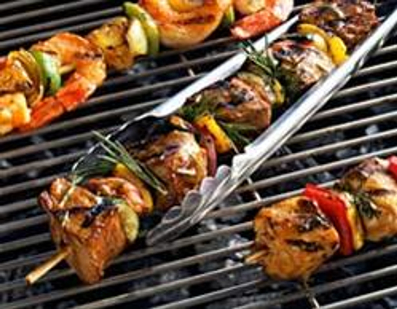 Mango Citrus Chicken Kabobs