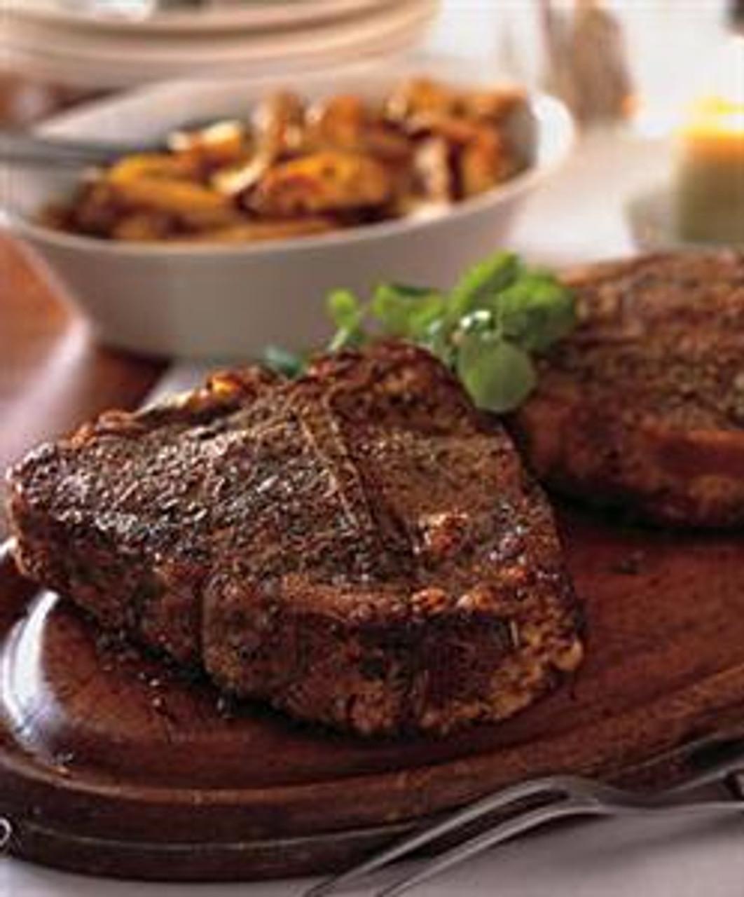 Spice-Roasted Porterhouse Steaks