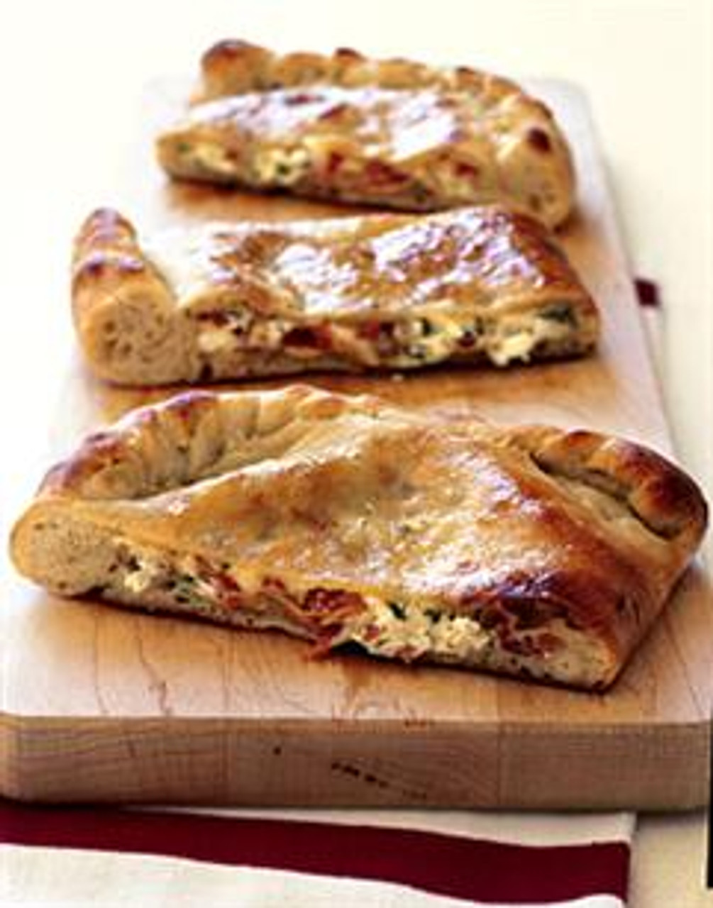 Prosciutto & Double-Cheese Calzone
