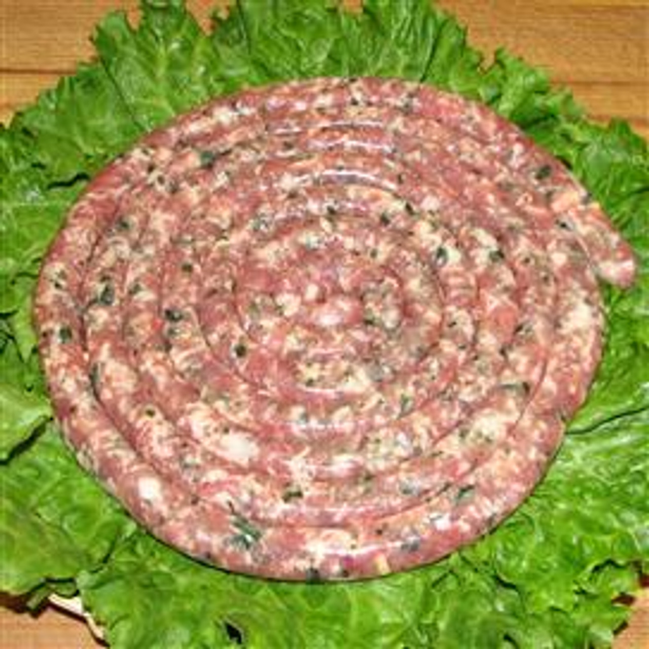 Thin Cheese & Parsley Sausage