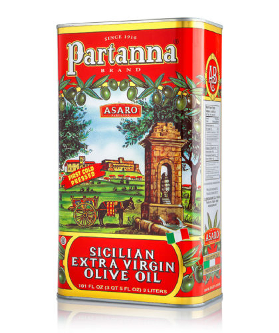 Asaro Partanna Sicilian Extra Virgin Olive Oil