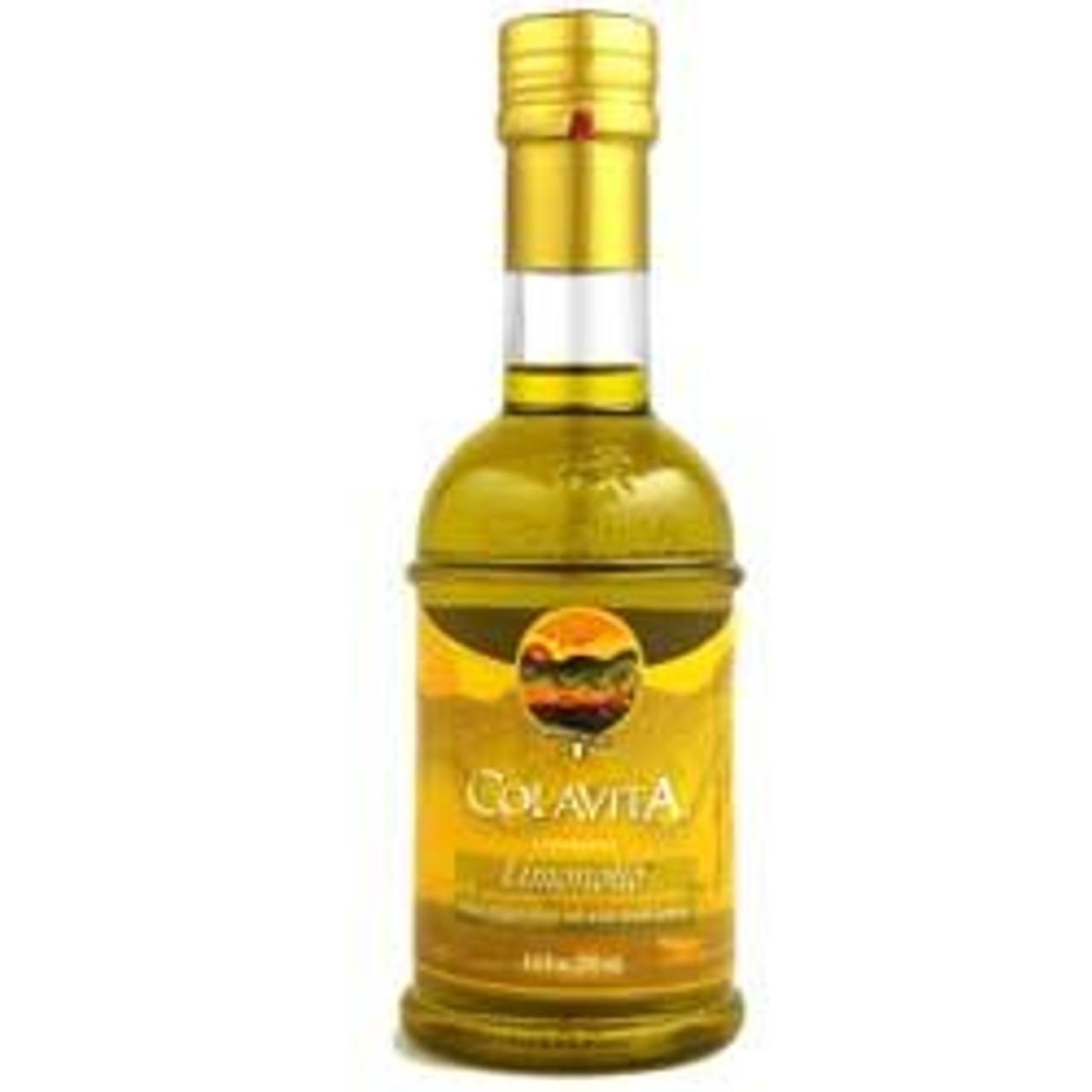 Colavita Extra Virgin Olive Oil infused with lemon essence
