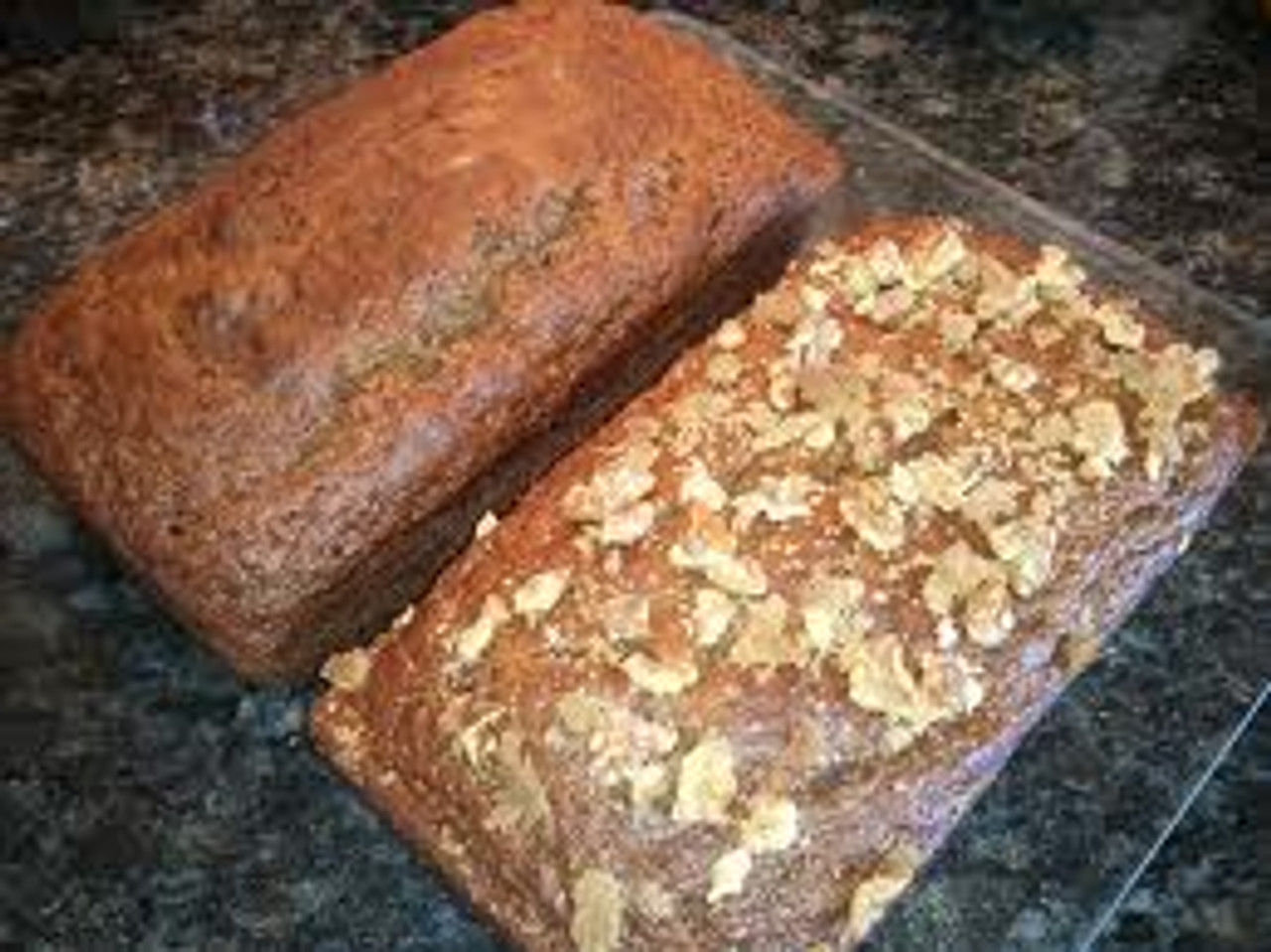 Pumpkin Banana Bread with Chia Seeds