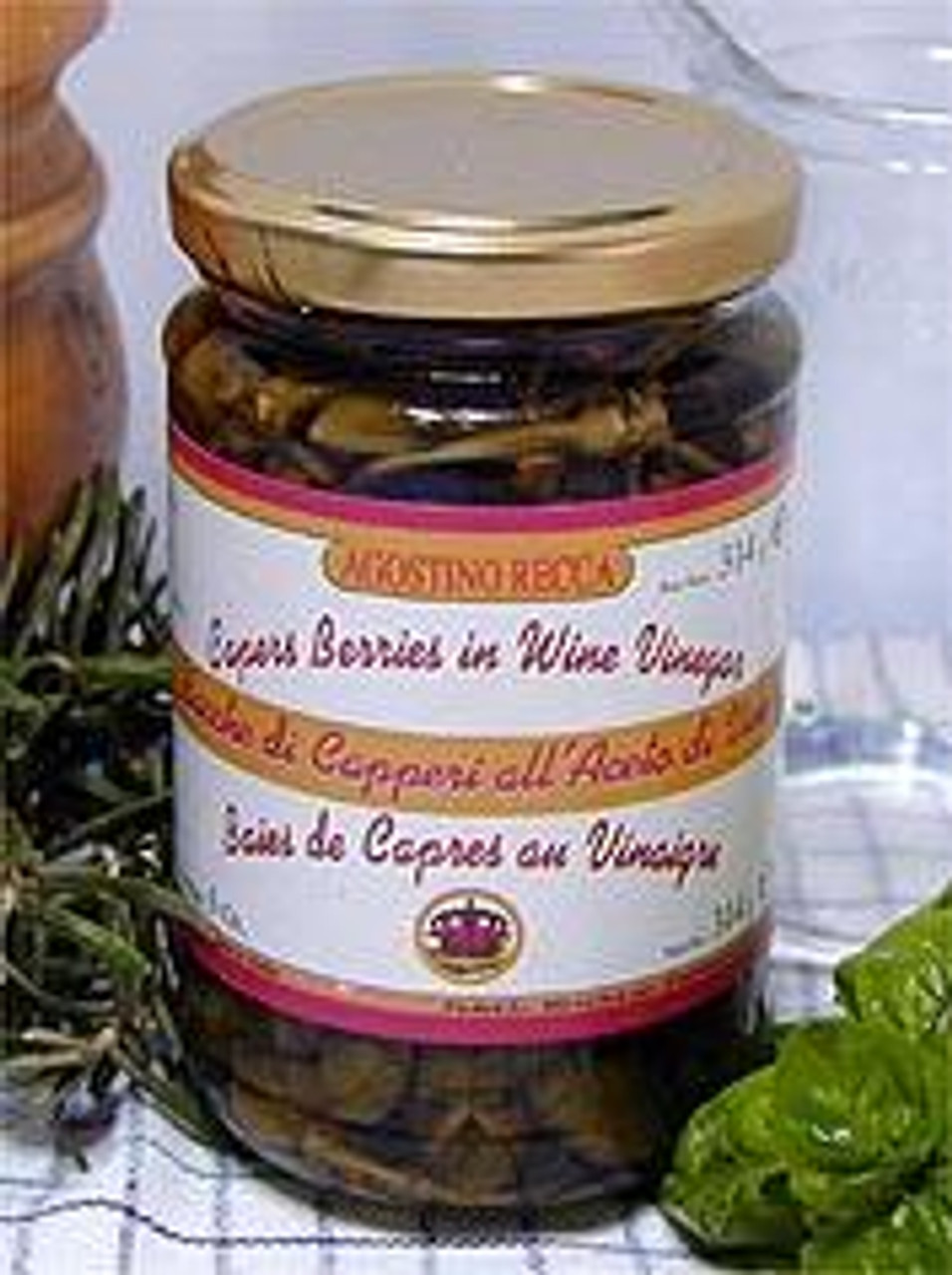 Capers Berries in Wine Vinegar
