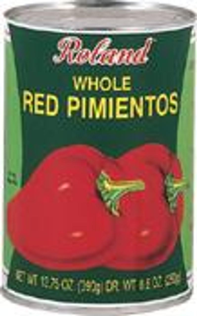 Whole Red Pimientos