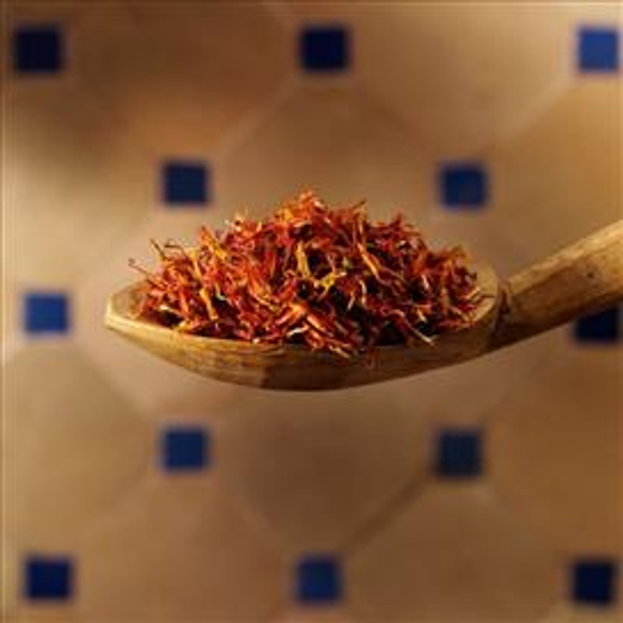 Pure Superior Saffron in Tin