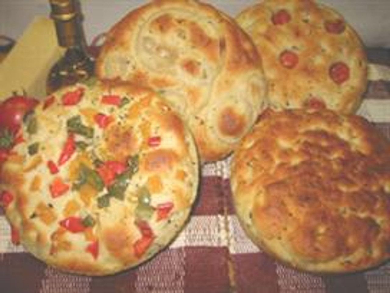 Own Fresh Baked Cherry Tomato & Onion  Foccacia