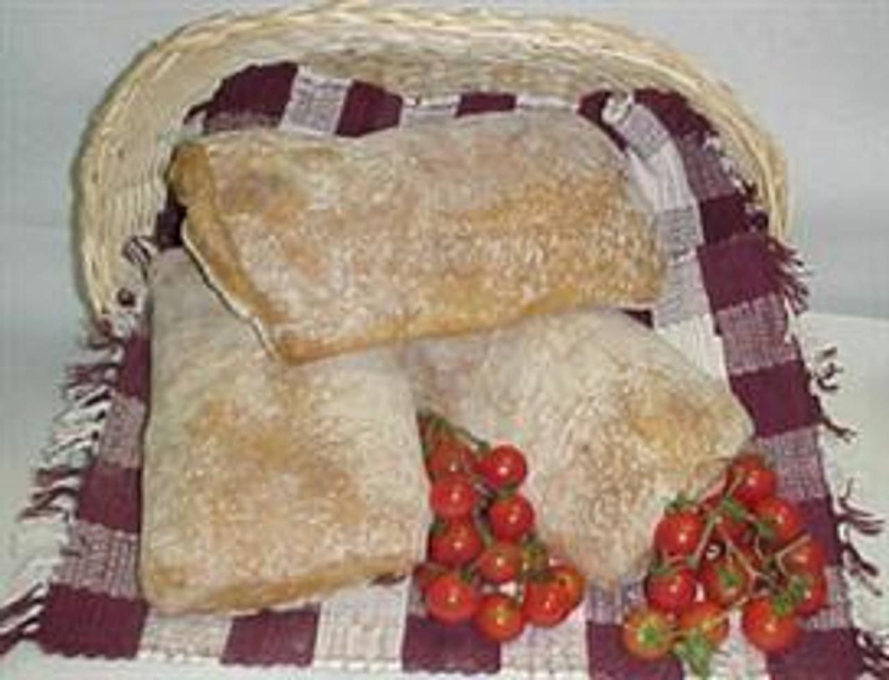 Ciabatta Rustica (made with Olive Oil)