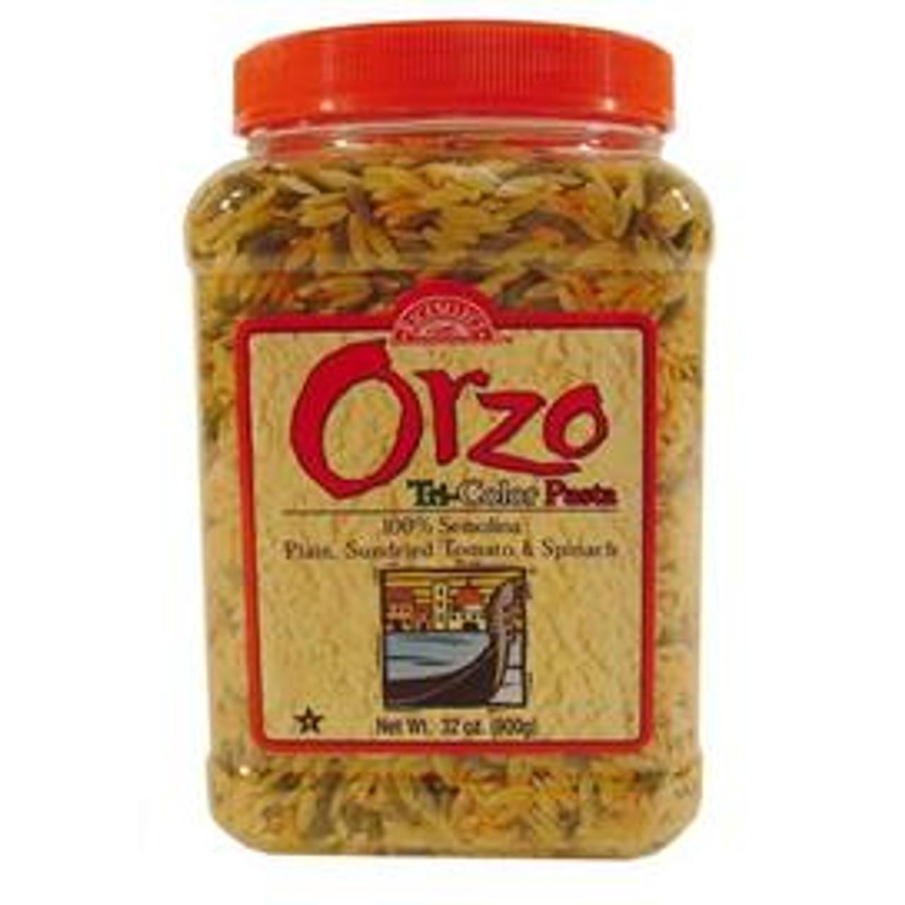 Tri-Color Orzo Pasta
