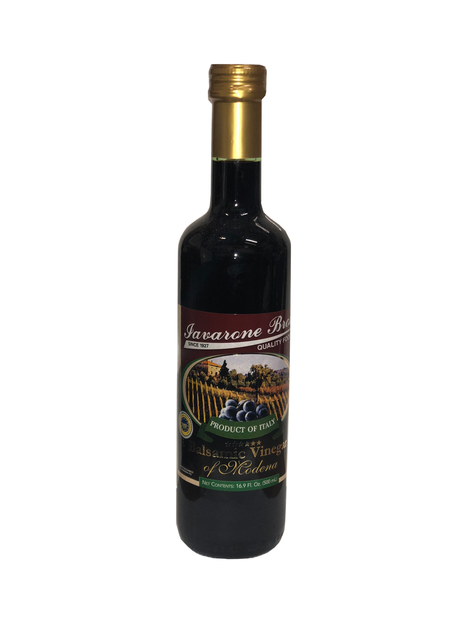 "Iavarone Bros. Specially Selected ""5 Star"" Balsamic Vinegar"