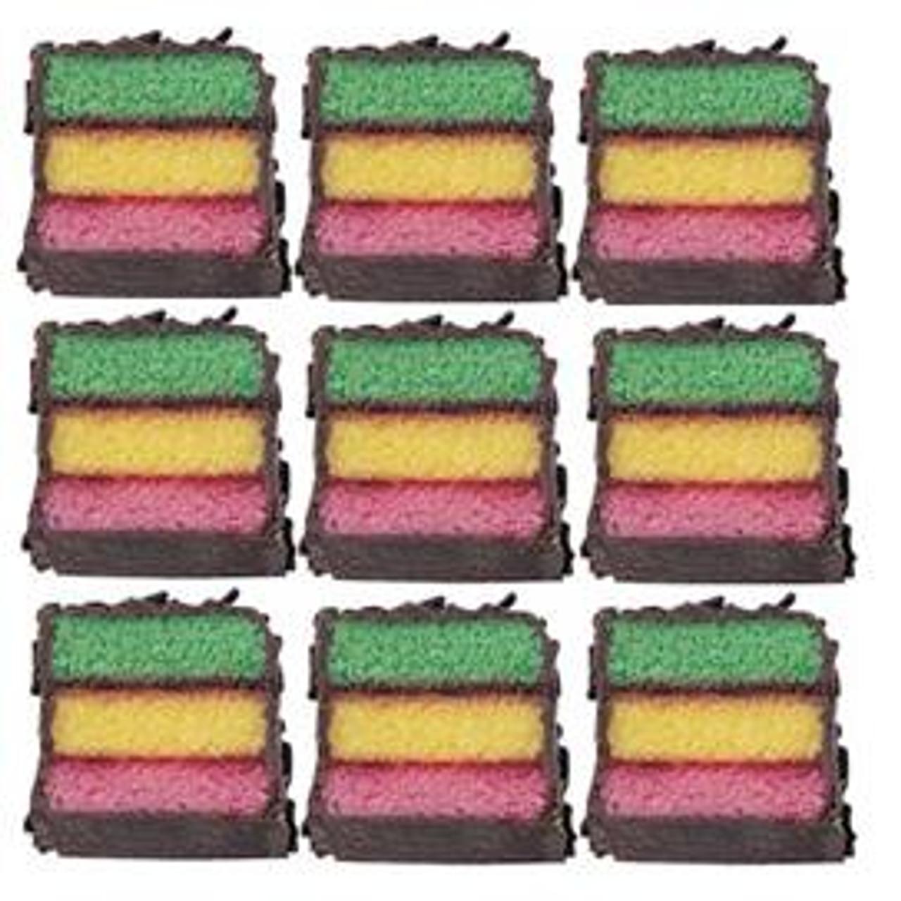 Rainbow Layer Cookies
