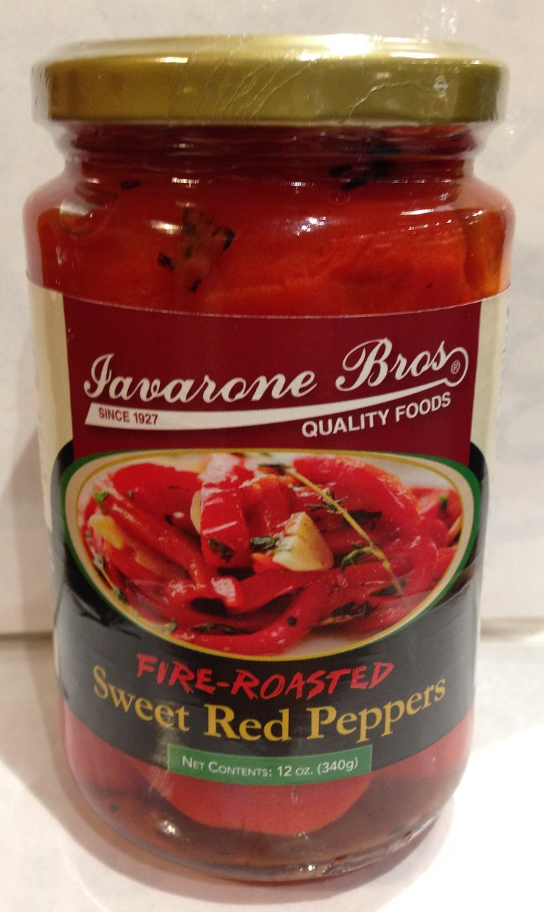 Fire Roasted Sweet Red Peppers