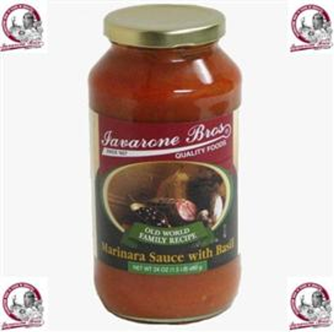 Marinara Sauce with Basil- Old World Family Recipe