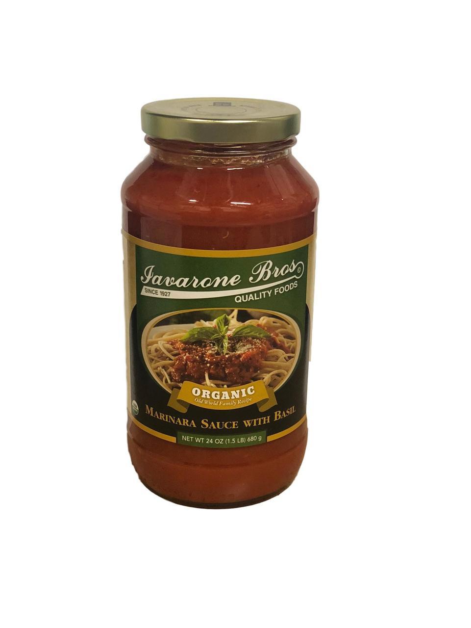 ORGANIC Marinara Sauce w. Basil