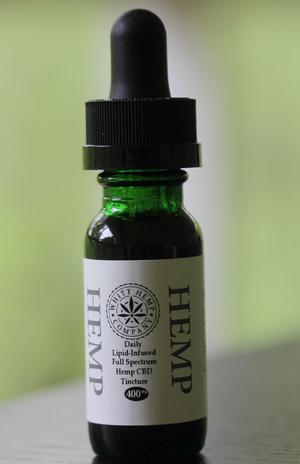 400 mg Lipid-Infused Whole Spectrum Hemp Tincture