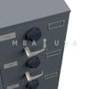 KABA-MAS X-10 LOCK PACKAGE, SAFE DOOR APPLICATION, BLACK