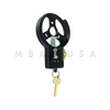 Key Locking Dial Ring, Spy Proof, Black & White (Use W/ D052 Dial)