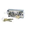 "Double Little Nose, 1/2"", Double Changeable, Nickel, P101 G-Key (Bluegrass Locks)"