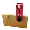 CABINET LOCK DRILL GUIDE W/ CUTTERS
