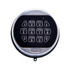 1-BATTERY KEYPAD, SATIN CHROME