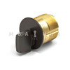 "TURN KNOB MORTISE CYLINDERS 15/16"" ADAMS RITE CAM/TAILPIECE BRONZE"