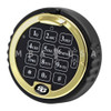 S&G ROTATING KEYPAD, LIGHTED, BRASS RING