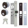 "LATCH BOLT LOCK 31/32"" BACKSET (RIGHT HAND), 2 MORTISE KEY CYLINDERS - 1"" SCHLAGE C (DARK BRONZE) AND 2 FACEPLATES"