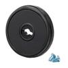 1-PIECE ESCUTCHEON FOR S&G 6870/80/90 FAS KEY LOCK
