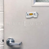 Fativan Fold-Up Door Stop W/ Magnets - White