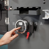 A-SERIES W/ DISPLAY, KEYPAD & PUSH/PULL MOTOR RETRACTED DEAD BOLT LOCK PACKAGE