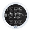 KEYPAD, DIGITAL AUDIT 2.0 w/ PORT (SATIN CHROME)