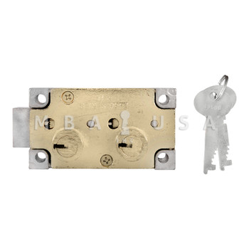 """Double Little Nose, Double Fixed, 1/2"""", #4 G-Key, Right Hand, Brass"""