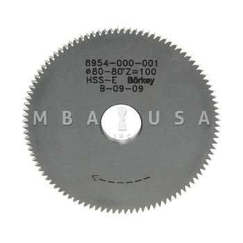 REXA CUTTER-PROFILE 2  80 X4.4 X 16MM (D01)