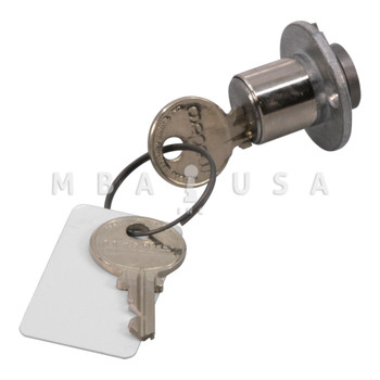 "CS401 3/4"" Cylinder with 2 Keys"