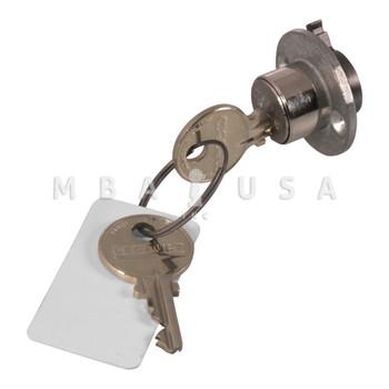 "CS401 1/2"" Cylinder with 2 Keys"