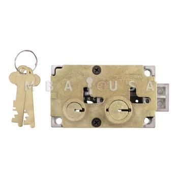 DIEBOLD 17570 SAFE DEPOSIT LOCK - DOUBLE CHANGEABLE, LEFT HAND