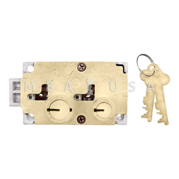 DIEBOLD 17570 SAFE DEPOSIT LOCK - DOUBLE CHANGEABLE, RIGHT HAND