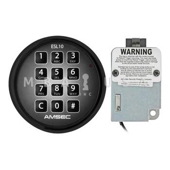 AMSEC ESL10XL SPRING BOLT LOCK PACKAGE W/ BLACK KEYPAD