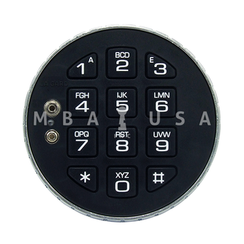 KEYPAD, LOW PROFILE (REQUIRES BATTERY BOX)
