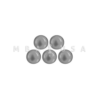 """1/4"""" STEEL BALL - PACK OF 5"""