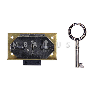 HALF MORTISE DEADLOCK 15MM